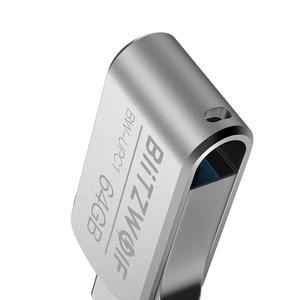 Image 2 - BlitzWolf BW UPC1 2 in 1 Type C USB 3.0 Aluminium Alloy 16GB 32GB 64GB OTG USB Flash Drive External Storage