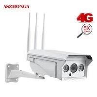 2MP 5X зум наружная ip камера безопасности 3g 4G sim карта беспроводное виброяйцо WiFi камера ИК ночного движения обнаружения GSM CCTV наблюдения