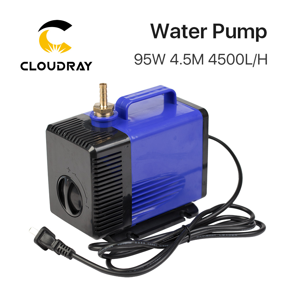 Submersible Water Pump 95W 4.5M 4500L/H IPX8 220V for CO2 Laser Engraving Cutting Machine цена и фото