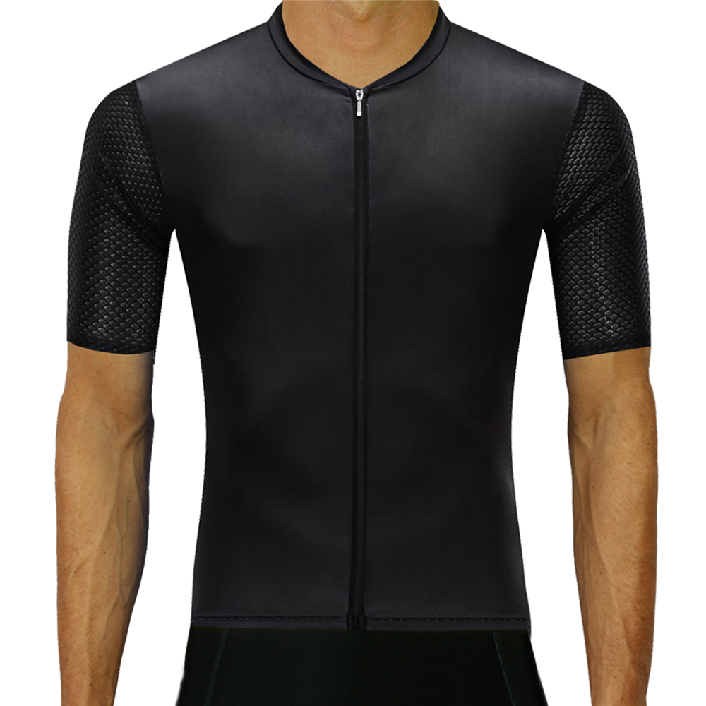 4e4be73d2 Detail Feedback Questions about 2019 Newest Top Quality Black Cycling Jersey  Pro Team Short sleeve bicycle MTB Bike clothes Italy fabric Maillot Ropa ...