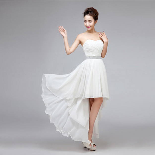 Online Buy Wholesale short white prom dress under 100 from China ...