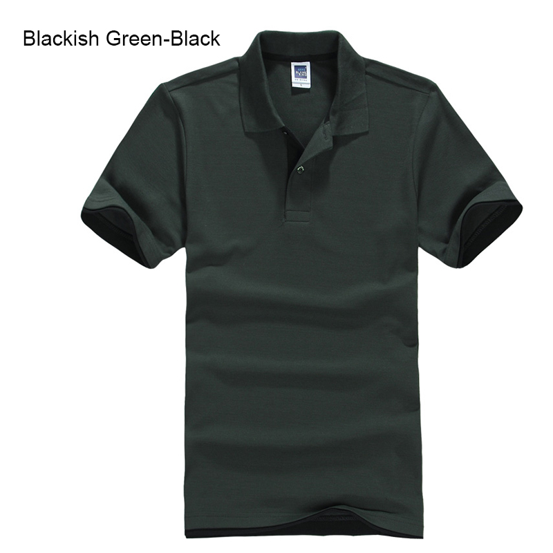 URSPORTTECH Men's Polo Shirt For Men Desiger Polos Men Cotton Short Sleeve shirt Clothes jerseys golftennis Plus Size XS- XXXL 35