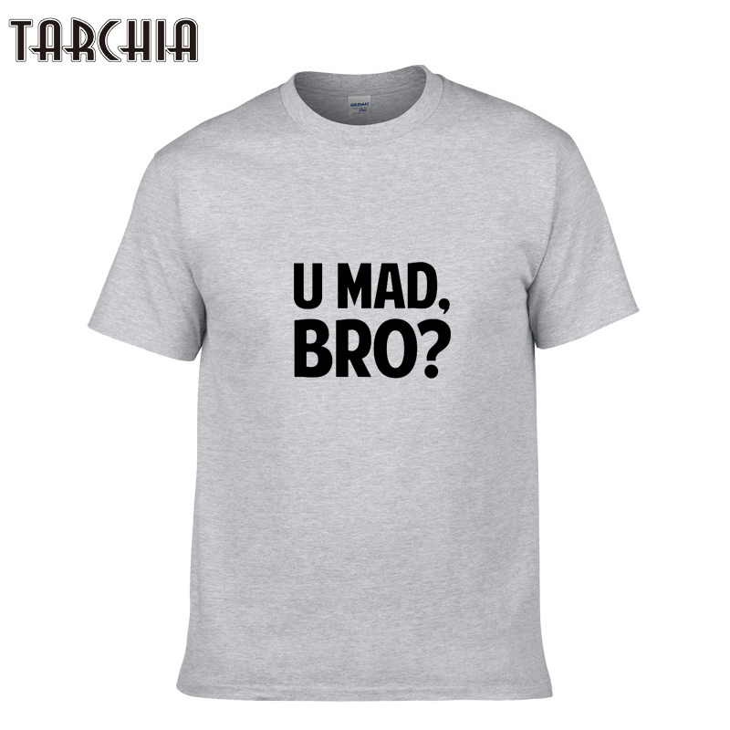 TARCHIA Men T Shirt 2018 Casual Letter Printed Top Quality Short Sleeve Cotton Man T-Shirts Camisetas Hombre Tees Shirts