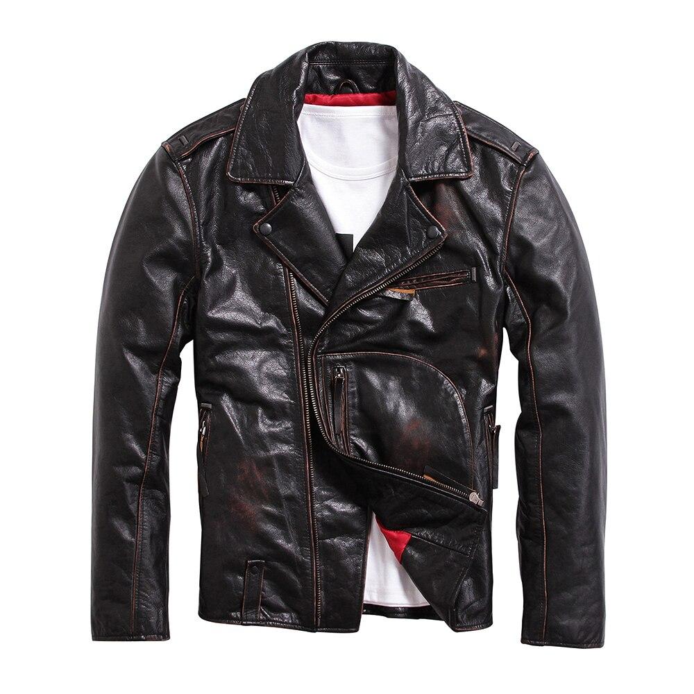 font b Men s b font leather font b jackets b font 2017 vigate Do