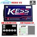 5PCS/LOT KESS V2 SW2.30 HW4.036 Auto ECU OBD2 Manager Tuning Programming Tool KESS V2.30 No Tokens Limited Add ECM Titanium 161