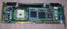 Disassemble flexible pca-6184 p4 industrial motherboard full length