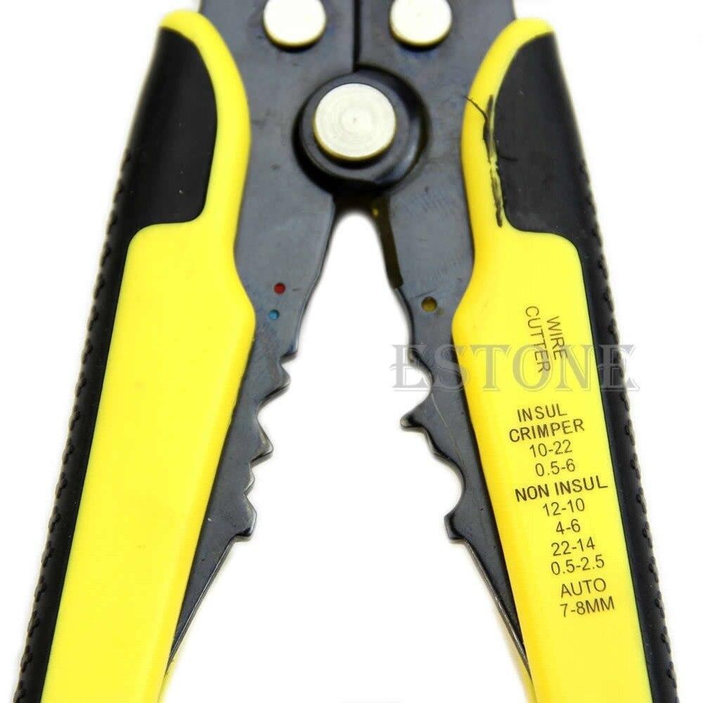 Handwerkzeuge Automatische Draht Striper Cutter Professionelle Stripper Crimper Zange Terminal Werkzeug Zangen