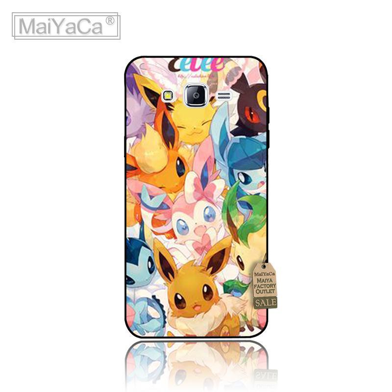 Abstracto fresco pokemon animales de dibujos animados accesorios del teléfono ca