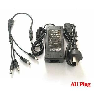 Image 2 - HKIXDISTE 12 V 5A 4 Port CCTV Camera AC Adapter Power Box di Alimentazione Per La Telecamera A CIRCUITO CHIUSO