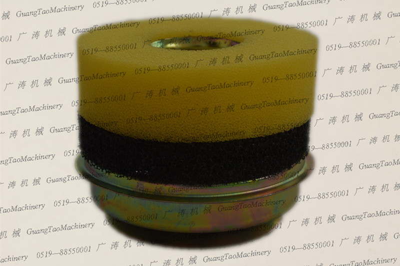 178F or 186F oil bath filter assembly