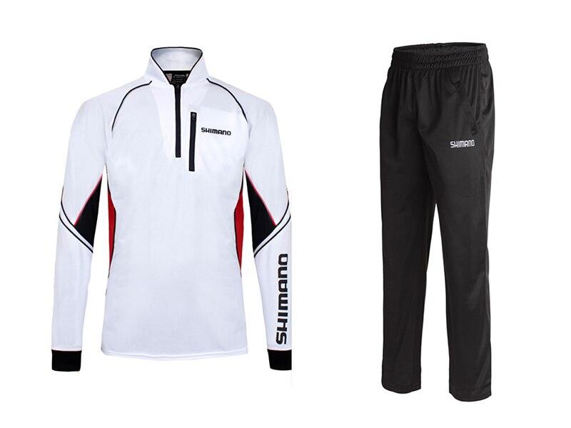 2017 New Brand Fishing <font><b>Clothing</b></font> Sets Men Breathable UPF 50+ <font><b>UV</b></font> Protection Outdoor Sportswear Suit Summer Fishing Shirt Pants