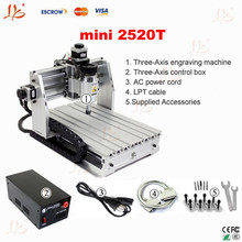 cheap mini CNCengraving machine  router 2520T woodworking planner