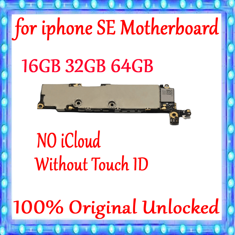 16GB /32GB /64GB /128GB for iphone 5SE SE Motherboard Without Touch ID,Plate Original unlocked for iphone SE Logic board16GB /32GB /64GB /128GB for iphone 5SE SE Motherboard Without Touch ID,Plate Original unlocked for iphone SE Logic board