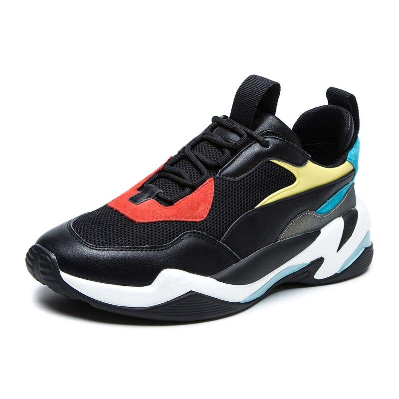 Las Beige Zapatos Calzado Deporte Zapatillas Genuino Marca black Moda De  Papá 2019 Suela Gruesa Casual Nuevodiscvry Mujeres ... 2fa963da7f86