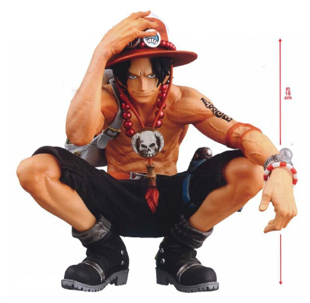 One Piece Ace PVC Action Ace Fire Devil Fruit  Figure Toy One Piece Anime Mera Mera no Mi Model Toy Figurine Juguetes OP23 anime one piece dracula mihawk model garage kit pvc action figure classic collection toy doll