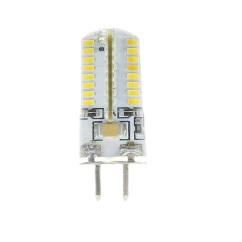 5x Dimmable GU5.3 GY5.3 GY6.35 6w 64LED Bulb 220V Warm White/Cool White Crystal Corn Lamp light Tubes For Home Lighting