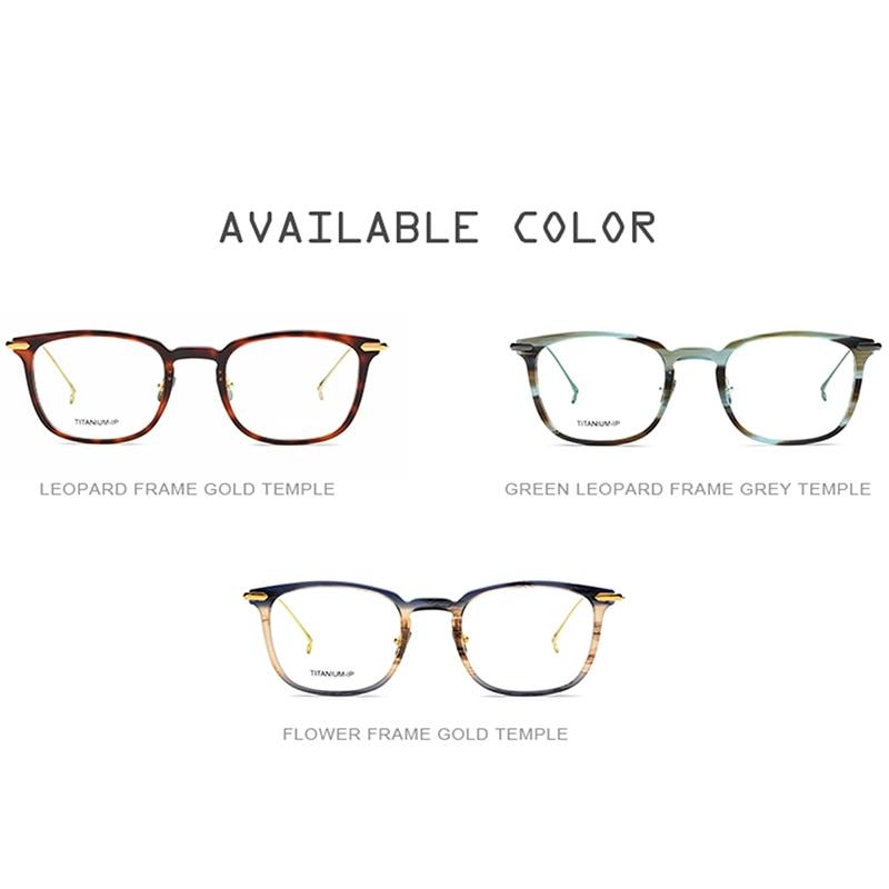 Myopie Acetat Titan Vintage Rahmen 2018 Optische Runde Frauen Rezept Reines Männer Ultraleicht Brille Brillen vqOwRFR