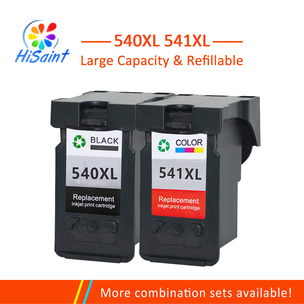 Hisaint PG-540 CL-541 Ink Cartridges PG 540 CL 541 Replacement for Canon PIXMA mg3250 MG3255 Jet Printer Free Shipping Hot