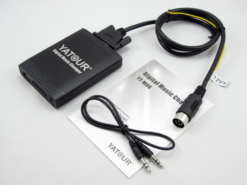 Yatour YTM06 Car Mp3 Player for <font><b>Volvo</b></font> XC70 <font><b>C70</b></font> S60 V70 S40 USB <font><b>Radio</b></font> Bluetooth Adapter CD HU403 HU615 HU803 HU650 SD Aux Kit image