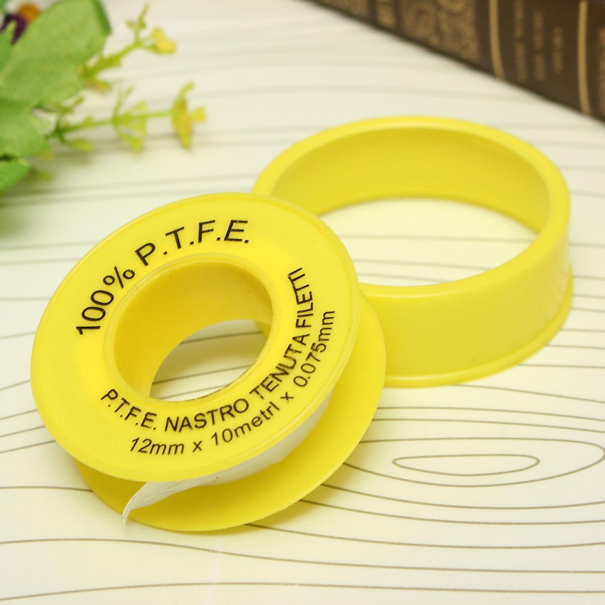 5pcs Teflon Plumbing Fitting Thread Seal Tape PTFE Water Pipe Plumber Repair NEW