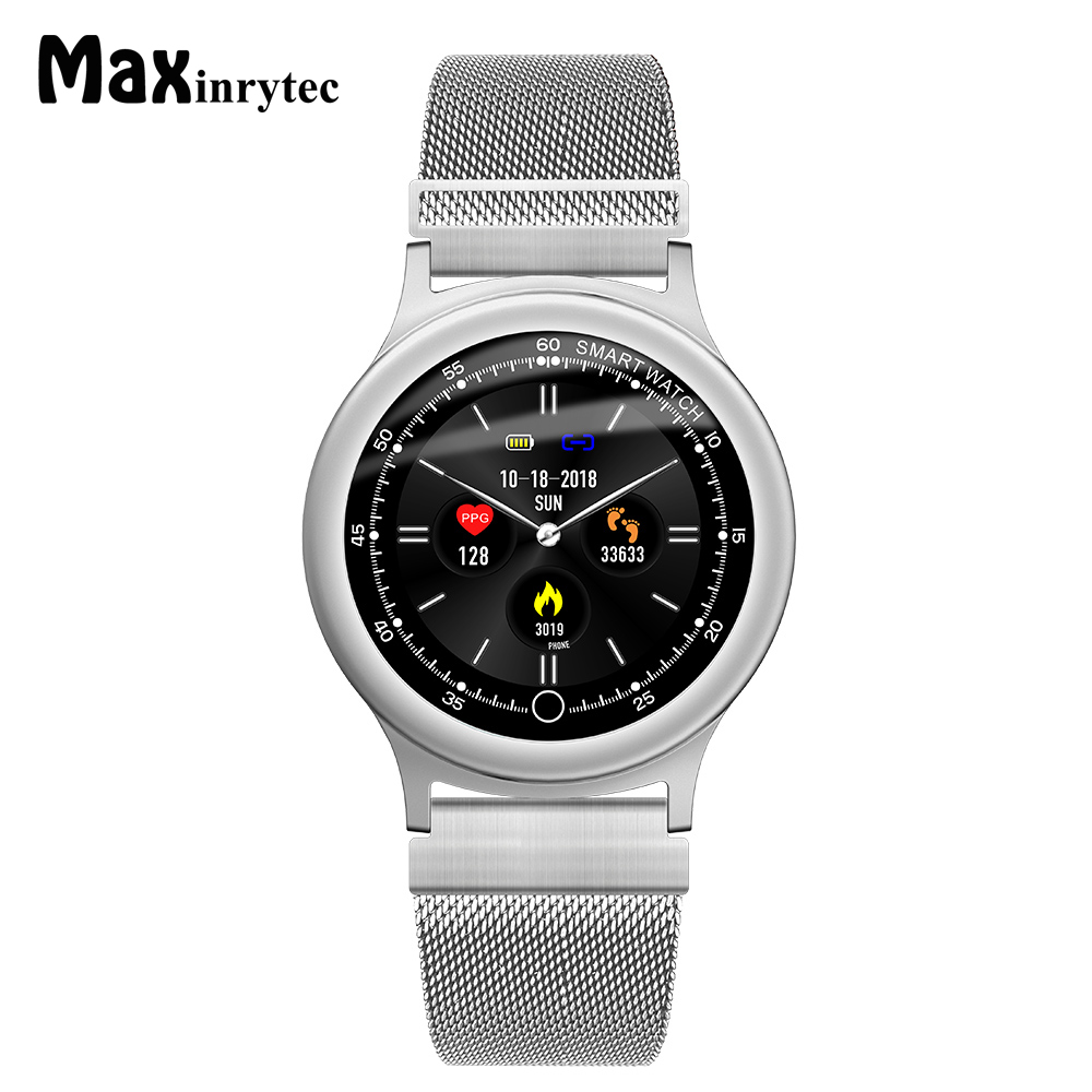 Maxinrytec Q28 Smart Watch Men Metal Replacement IP68 Waterproof Heart Rate Blood Pressure Monitor SNS Notifications SmartwatchMaxinrytec Q28 Smart Watch Men Metal Replacement IP68 Waterproof Heart Rate Blood Pressure Monitor SNS Notifications Smartwatch