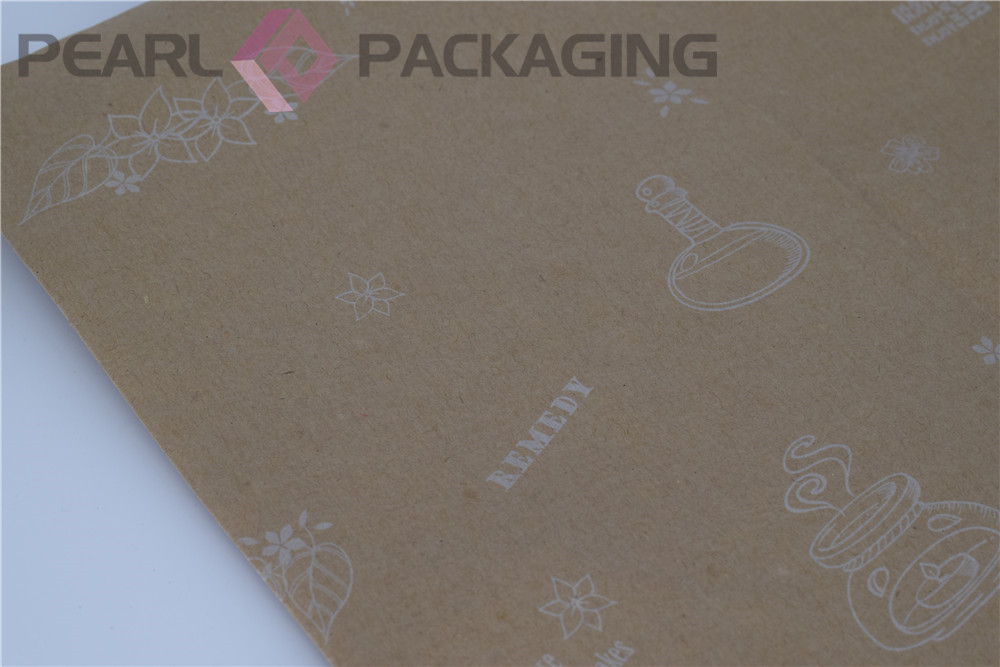 Custom Printing Brown Kraft Paper for Gift Packaging and Decorative Wrapping Craft Decoration Free Shipping