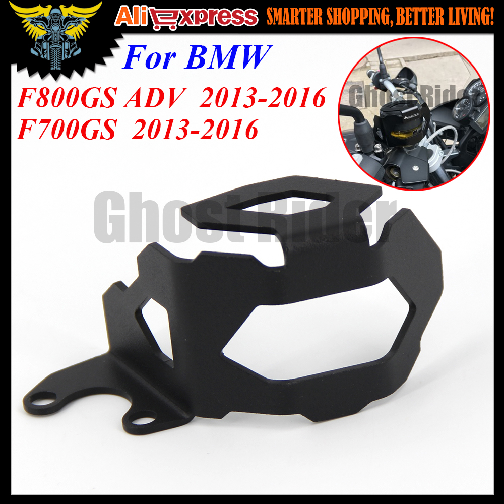 For BMW F800GS F700GS 2013 2014 2015 2016 Aluminum Motorcycle Front Brake Fluid Reservoir Guard Protector Cover