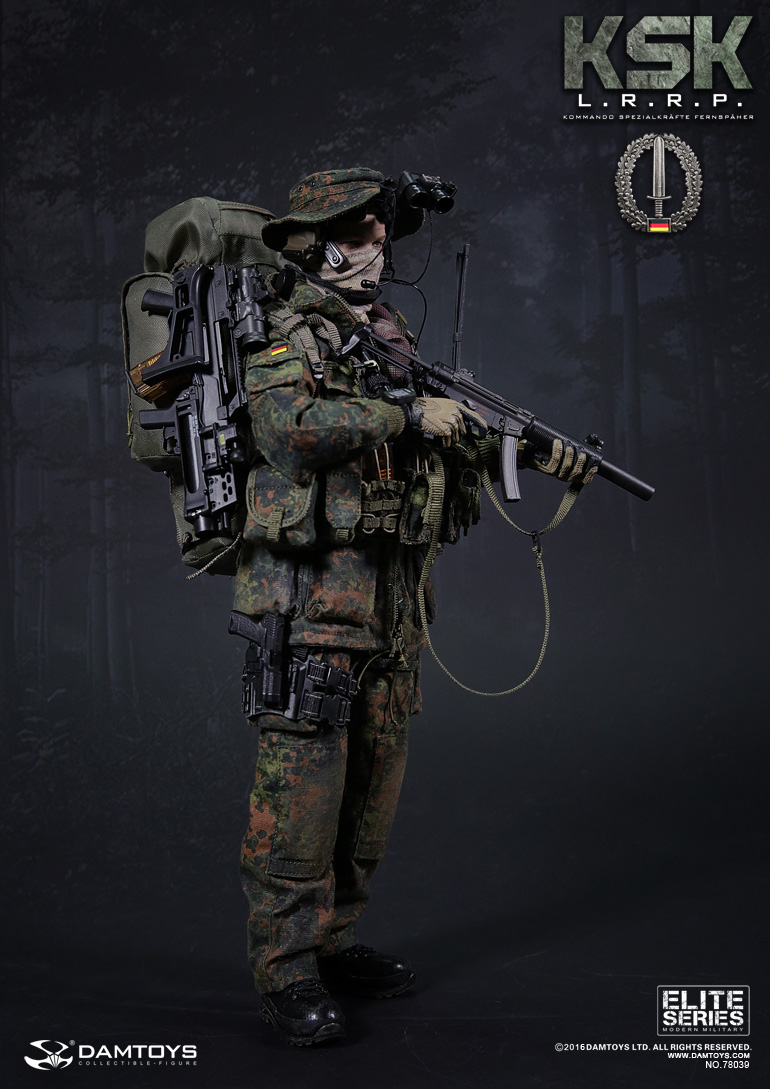 DRAGON 1//6TH SCALE MODERN U.S SPECIAL FORCES SNIPER PATROL RADIO