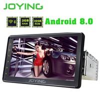 Радуясь официальный gps Android 8,0 автомобилей Радио 2 ГБ Bluetooth Octa Core 1 DIN 7 Авто головное устройство carplay сзади Камера DVR OBD2 видео выход