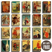 Vintage ruso compañero Joseph Stalin cartel de retrato cccp USSR clásico Retro Poster arte impreso pared pintura pegatinas de pared