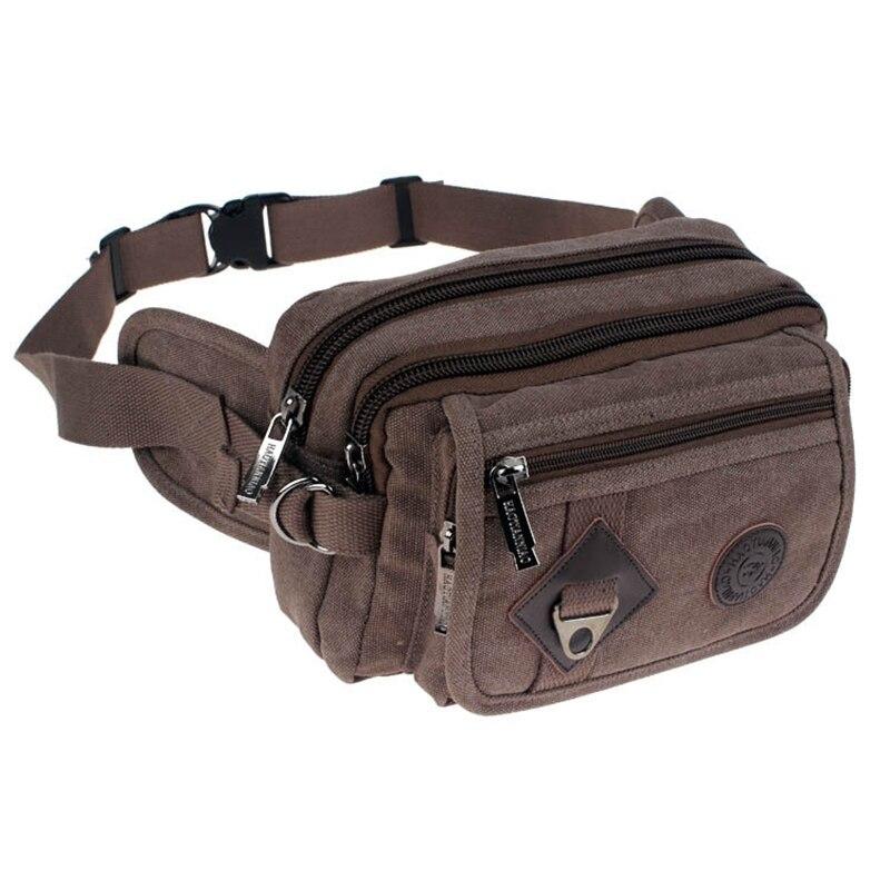 bolsa de cinto homens cintura Pattern : Solid