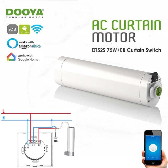 Dooya Dt52s 75 Watt 4 Draht Vorhang Motor Jinvoo App Wifi Vorhang
