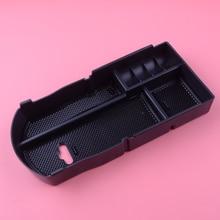 Внутренняя центральная консоль подлокотник коробка для хранения Контейнер Органайзер держатель подходит для Toyota Prius XW30 подтяжка лица хэтчбек 2012