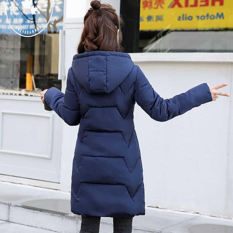 6XL Plus größe Stehen Kragen Mit Kapuze Frauen Winter Jacke Baumwolle Gepolsterte Frauen Jacken Winter Mantel Weibliche Lange Parkas Chaqueta Mujer