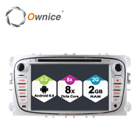Ownice C500 Android 6.0 Octa 8 Core Car DVD Player Per FORD Mondeo S-MAX Connect FOCUS 2 2008-2011 Con Radio GPS 4G LTE Network