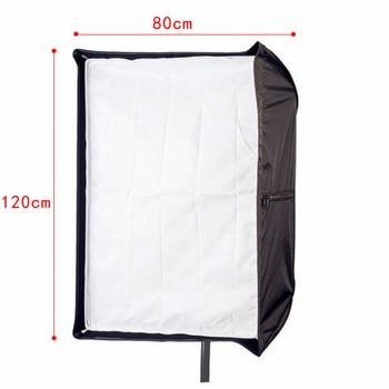 Photo Studio 80x120cm Umbrella Softbox Diffuser Reflector Photography Soft Box Light Box for Speedlite Flash