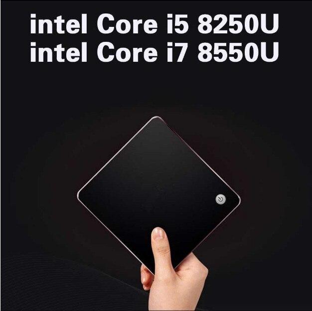 Intel Core I7 8550U  Mini Pc Windows Intel 8th Gen Core Intel I5 8250U HD Graphics 4K HD Output Mini Computer Windows 10 Pro Box