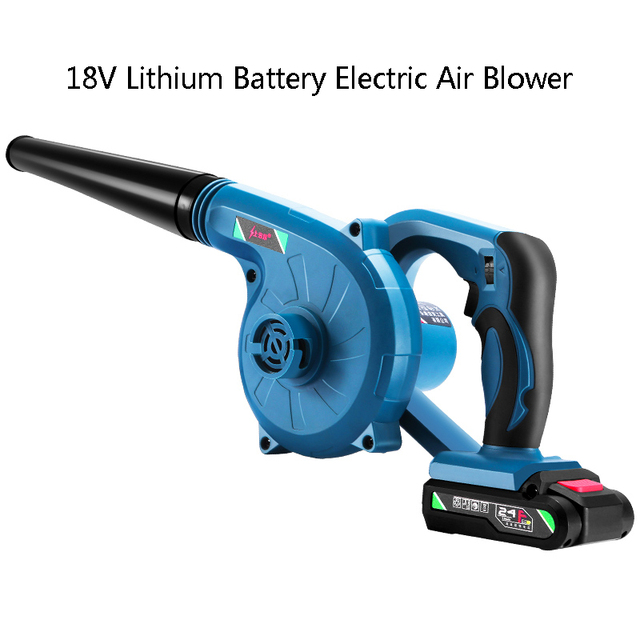 18V Lithium Battery Electric Air Blower Hand Turbo Fan Computer Dust Cleaner Collector