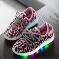 LED lights child boy sneaker glowing children shoes fashion girl colorful luminous flash baby tenis kids trainer