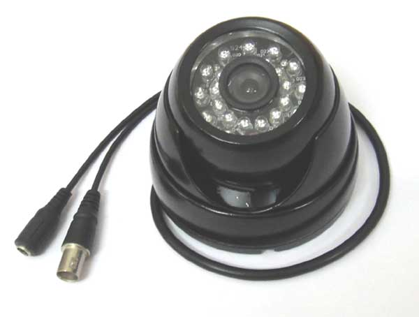 HD AHD Security CCTV Camera 720P 1mp Outdoor Dome IR CUT 24Leds Night Vision IR color, 1080p lens