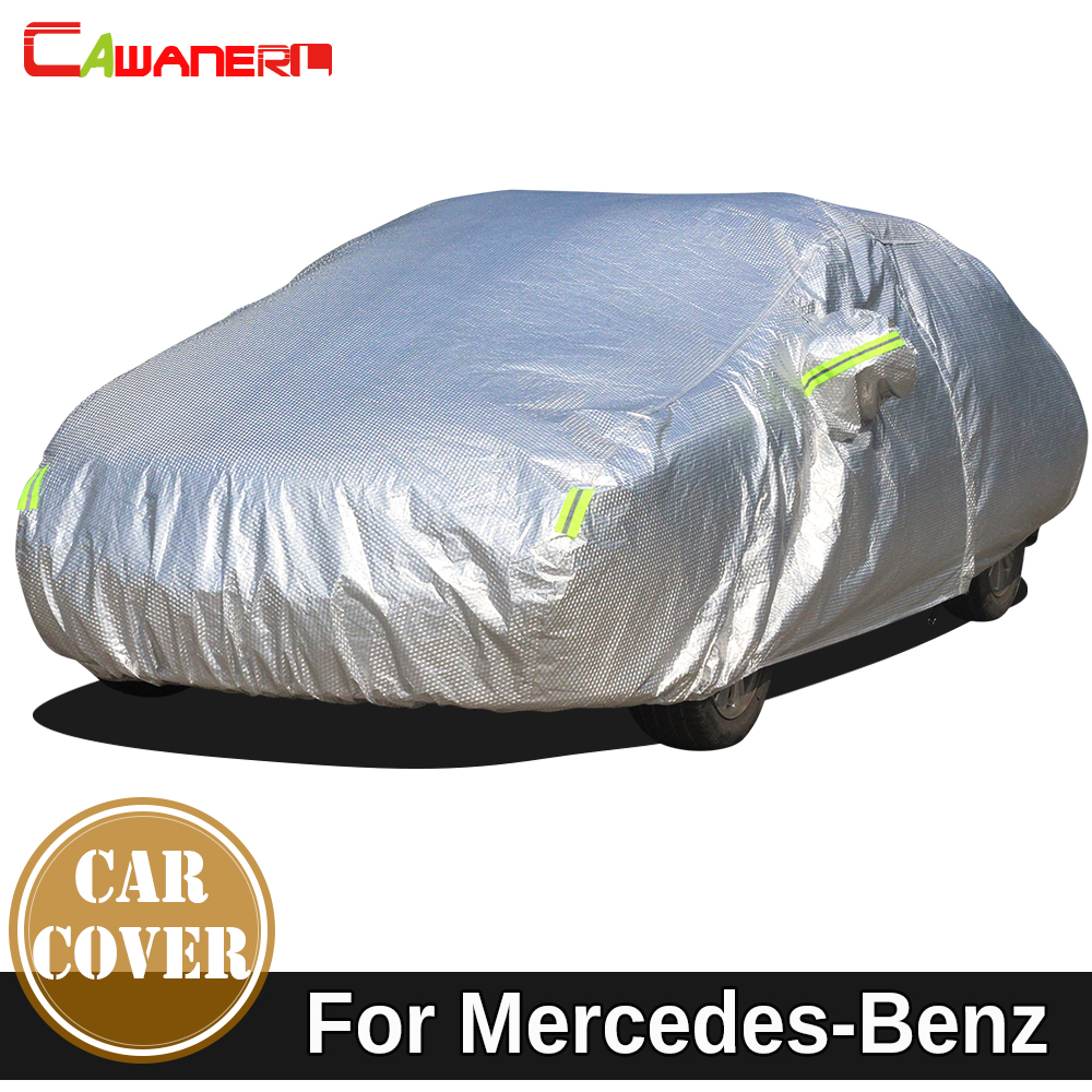 Cawanerl Waterproof Car Cover Sun Snow Rain Protect Cover For Mercedes Benz S Class W126 C126 W140 V140 C140 W220 W221 W222 C217 best price transformer a vogt for mercedes benz s class w220 before 2000 w220 mercedes w220 benz free shipping page 8