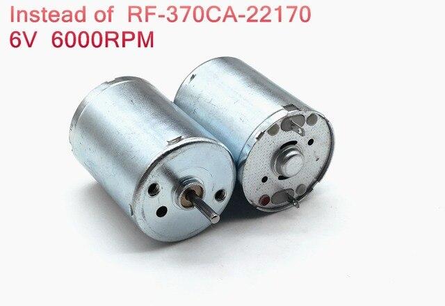 2PCS RF-370CA-22170 DC micro motor 3V-6V mute Motor,For
