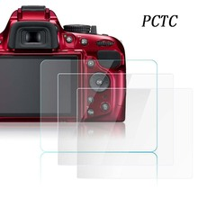 ФОТО PCTC  03mm Optical Tempered Glass HD LCD 9H Screen Protector Cover Film Camera Protection  Nikon D5200