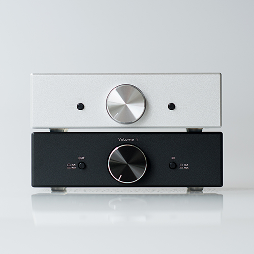 Finished Mini Fully Balanced Passive Preamp HiFi Pre Amplifier XLR RCA Volume Controller With toggle switch
