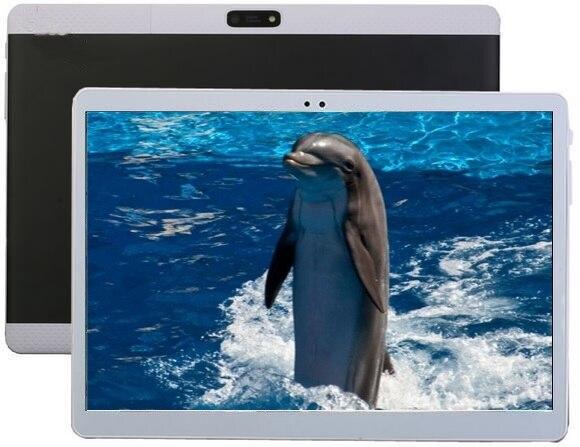 Miễn phí vận chuyển 10 inch Tablet pc Android 6.0 Octa Lõi 4 gb RAM 64 gb ROM dual sim WiFi FM IPS Điện Thoại trẻ em GPS Máy Tính Bảng 3 gam + quà tặng