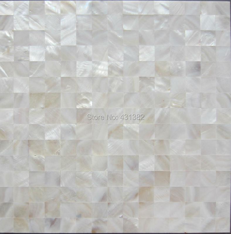 Hyrx Shell Mosaic Natural White Color