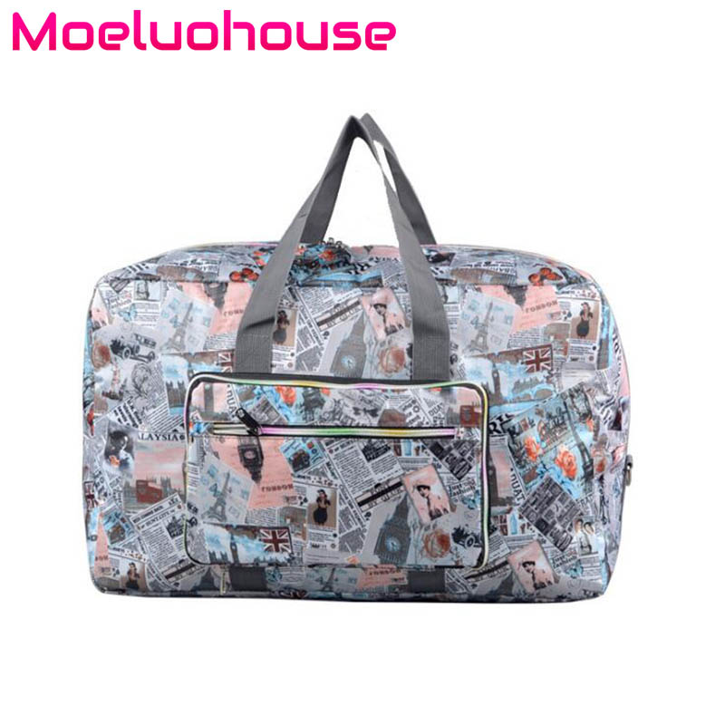 Moeluohouse Girl Women Luggage Messenger Crossbody Shoulder Duffle Travel Bag Handbag Tote Sport Zipper Poceket Large Capacity