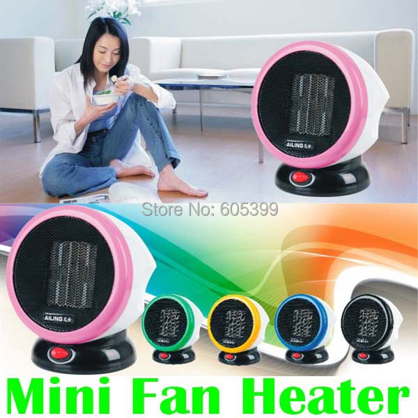 Stove Hand Warmer Portable Personal FTC Ceramic Space Heater Electric 220V 500W Warm Winter Mini desktop Fan Heater Forced
