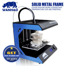 Excellent resolution stabe high quality Wanhao D5S mini 3d printer industrial level with1kg filament for free.