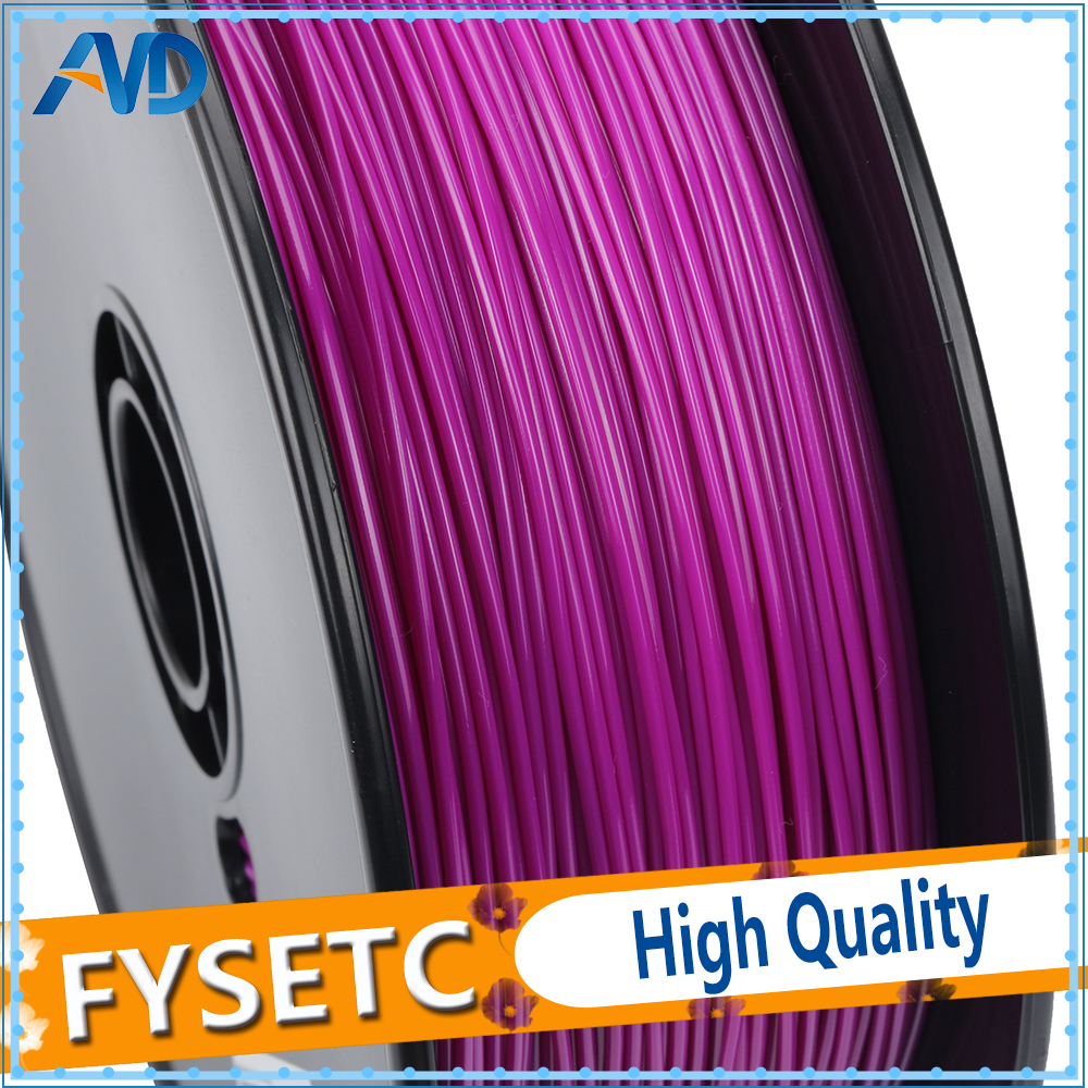 PETG Filament 1.75mm 1kg/2.2lbs Purple Color New Printing Materials 1.75 PETG Filament For 3D Printer/3D Pen VS ABS/PLA abs filament 1 75 in yellow color 1kg
